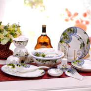 景德镇56头骨瓷餐具出售图片