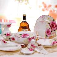 56头骨瓷餐具出售图片