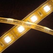 供应上海LED灯带_IP68防水灯带_硅胶套管LED灯带_DC12V