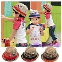 2013新款爵士帽/韩版男士爵士帽/贴标儿童爵士帽/绅士帽时尚爵士帽批发