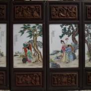 名人瓷板画鉴定图片