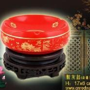 日用红瓷烟灰缸潇湘八景图片