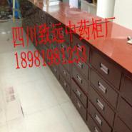 生产四川中药柜木质钢制中药柜图片