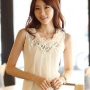 夏季雪纺背心吊带韩版雪纺衫图片