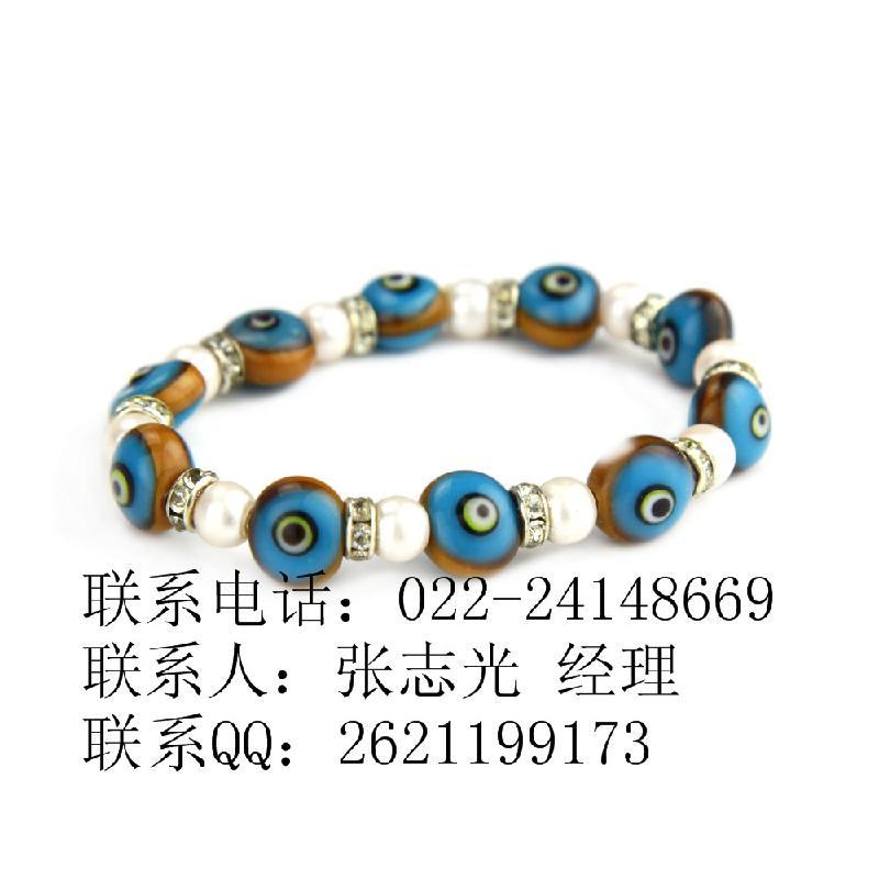 供应中国琉璃饰品手链
