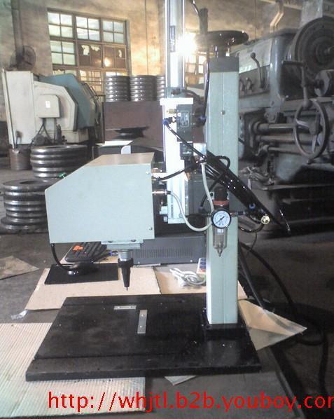 供应飞轮专用打标机,求购发动机飞轮气动打标,求购潍柴玉柴打标机