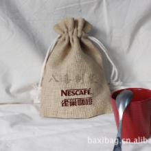 供应专业设计加工麻布咖啡袋厂家直销