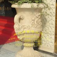 深圳欧式树脂花盆东莞园林花容器图片