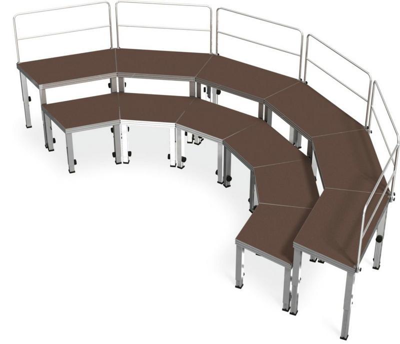 供应晚会合唱台演出台阶集体照阶梯图片