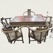 128cm鸡翅木功夫茶桌茶柜七件套图片