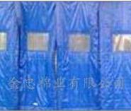 商场专用羽绒棉门帘图片
