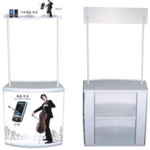 弧形促销台吸塑促销台促销桌展示架图片