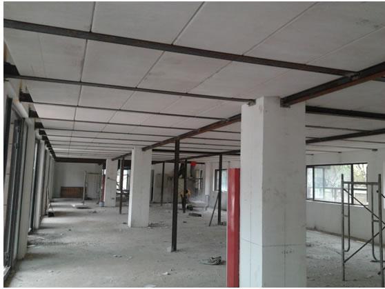 无锡H钢+alc板材+化学螺栓完美的轻型钢结构阁楼