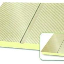 供应聚氨酯外墙保温板彩钢聚氨酯板