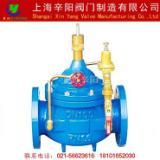 供应上海辛阳--水力控制阀 400X 先导式流量控制阀 流量调节阀