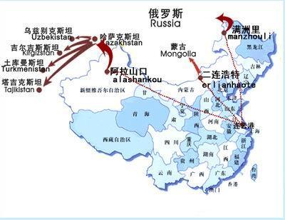 供应阿拉木图铁路运输