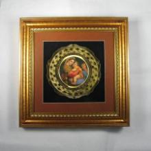 厂家直销 宗教铜版画 工艺铜版画 金属工艺品