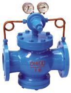 供应美科空气减压阀YK43X/F 碳钢减压阀图片