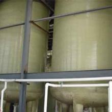 供应玻璃钢容器 立式容器 卧式容器 大型现场容器图片