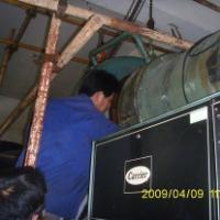 供应大型中央空调系统管道风管清洗