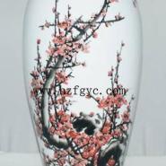 手绘瓷傲梅报春小口花瓶哪里有卖图片