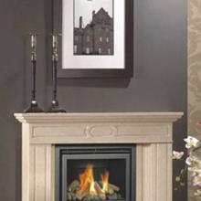 供应小威廉嵌入式燃木壁炉图片