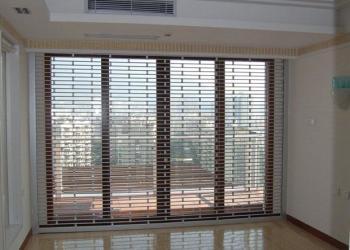 深圳铝合金门窗断桥内开上悬窗图片
