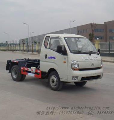 勾臂式垃圾车图片/勾臂式垃圾车样板图 (1)