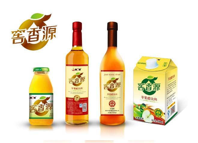 苹果醋包装图片/苹果醋包装样板图 (1)