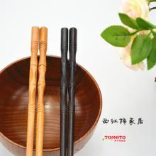 供应原木竹节筷