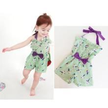 阿里童装批发 厂家直批2013夏装女童新款 日韩夏季宝宝吊带连身衣