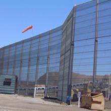 安装防风网作用/常州金属煤矿挡风板制造厂/运输隔音板厂家图片