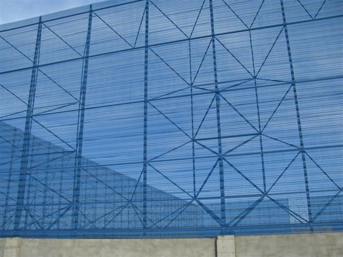 内蒙古防风抑尘网挡风板生产工艺
