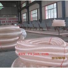供应PU钢丝伸缩管PU钢丝骨架管透明软管耐高温高耐磨钢丝螺旋软管