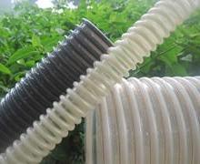 供应象牙色塑筋螺旋软管不含塑化剂耐高温高耐磨塑筋软管