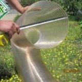 供应聚氨酯材质钢丝通风除尘软软管批发