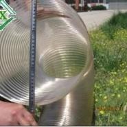 下料用钢丝软管输料用pu钢丝管图片