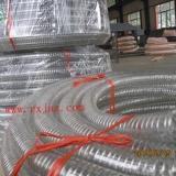 供应聚氨酯钢丝平滑输油输酒输奶专用管不含塑化剂钢丝平滑软管耐高温高耐