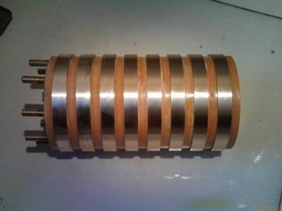 供应纺织机械集电环