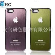 苹果5金属拉丝手机壳图片