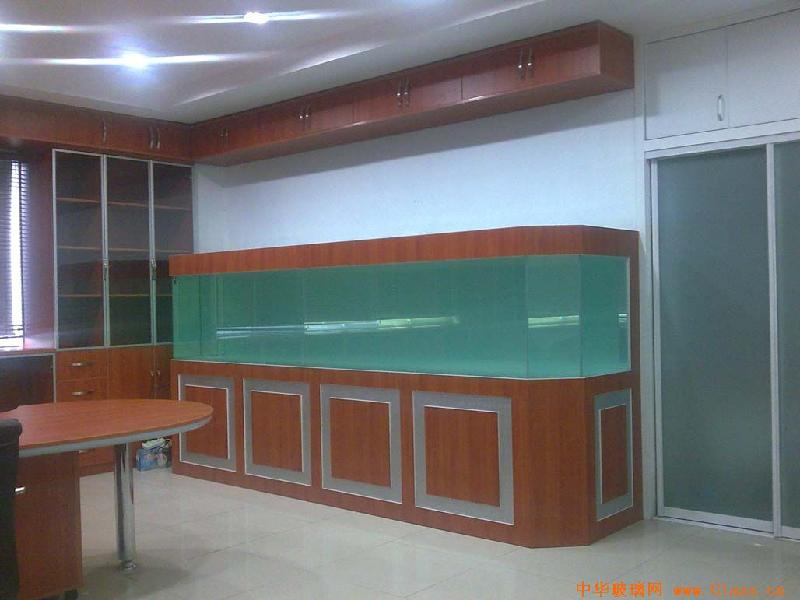 玻璃鱼缸图片 玻璃鱼缸样板图 南京玻璃鱼缸设计定制 南京...