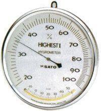 供应日本SATO温湿度计7540-00