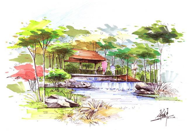 园林景观设计 园林景观设计供货商 上海景观设计培训徐汇园林景观设