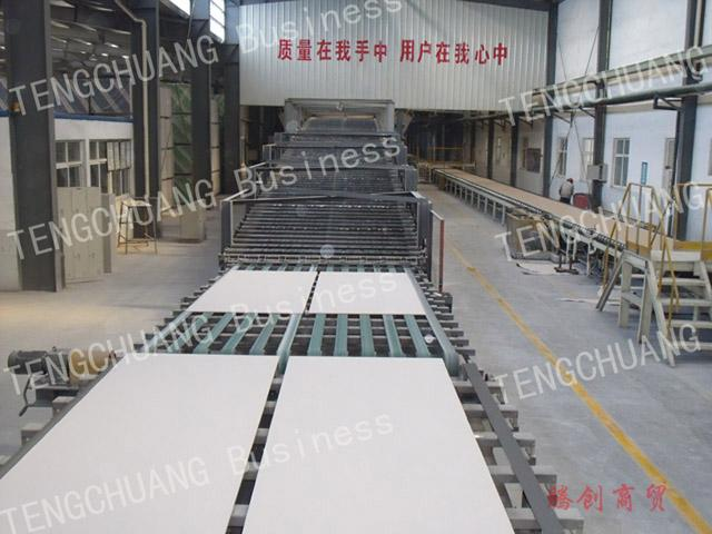 供应纸面石膏板生产线
