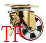 供应欧式重型铝芯PU脚轮,铝芯脚轮生产基地,脚轮生产专家