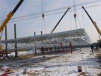 供应驻马店网架工程施工、油罐制作加工、钢结构工程、加油站装修工程