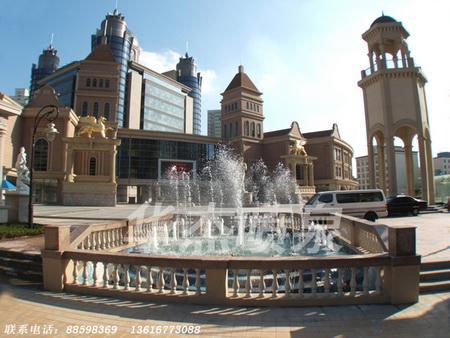 供应欧州城水景喷泉实景01图片