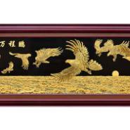 大厅金雕画图片