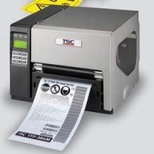 新疆TSC TTP-384M宽幅条码打印机 仓库标签打印机