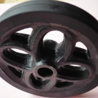 供应橡胶车轮回力轮子家具车轮轮子